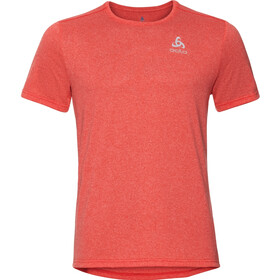 Odlo Millennium Element Crew Neck SS T-Shirt Men orange.com melange